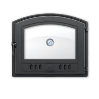 Дверка 224 с термометром (Антрацит) ВЕЗУВИЙ